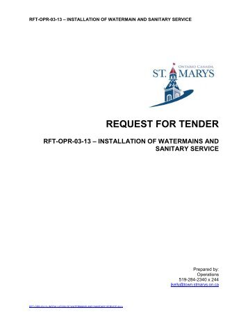 request for tender Request for information  tender opening schedule  have submitted a bid or proposal for a given solicitation exercise may send a representative to attend the respective tender opening in un.