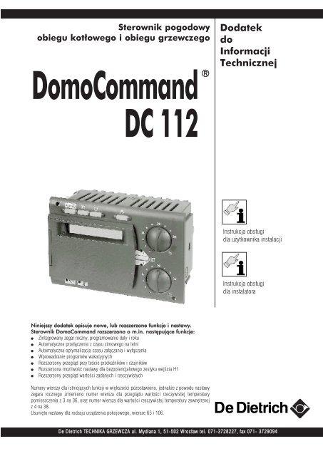 Dc 112 De Dietrich