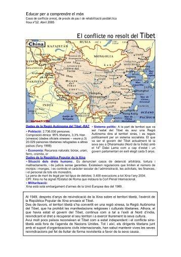 El conflicte no resolt del Tibet - Escola de Cultura de Pau