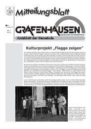 """Kulturprojekt """"Flagge zeigen"""" - Gemeinde Grafenhausen"""