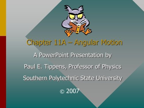 angular motion pdf