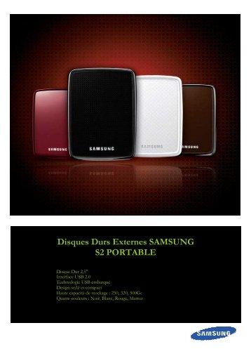 SAMSUNG Disques Durs Externes S2 Portable v1