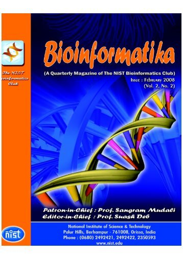 Bioinformatika, Vol.:2 No. - NIST