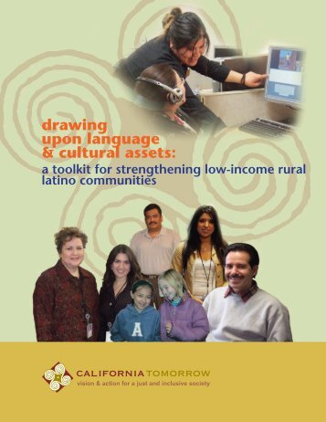 drawing upon language & cultural assets: - Racial Equity Tools