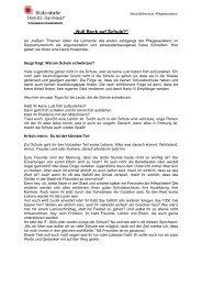 Pflegeassistenz Projekt Adresatenbezogenens Schreiben