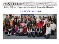 Annual Report 2011-2012 part 1 - Lattice
