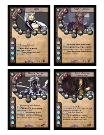 Neutral Faction Cards