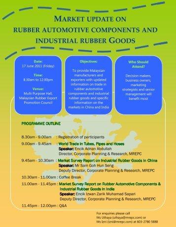 Market Update on Rubber Automotive Components ... - Mrepc.com