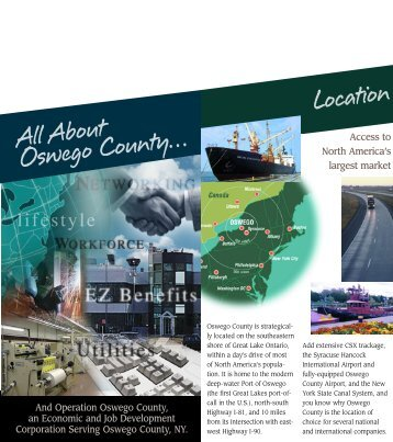All About Oswego County… Location - Operation Oswego County!