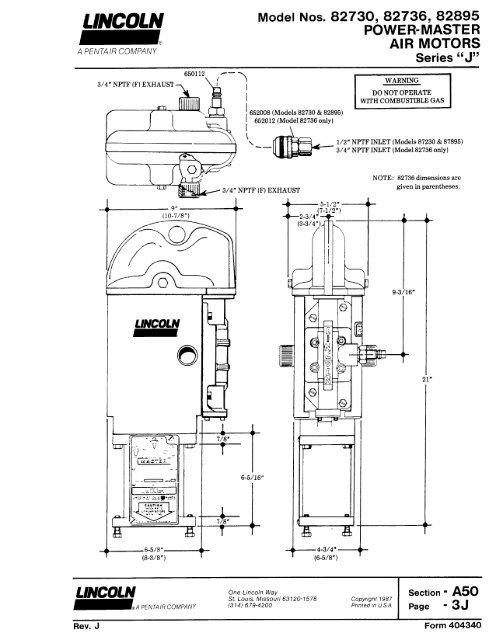 Power-Master Air Motor - Series