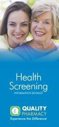 Health Screening - Quality Pharmacy