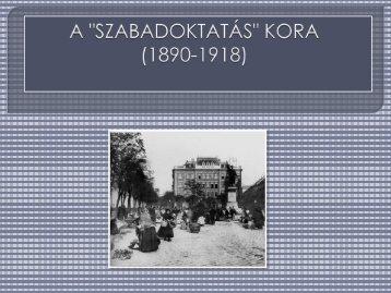 a felnőttképzés kezdetei magyarországon - Dr. Fehér Katalin