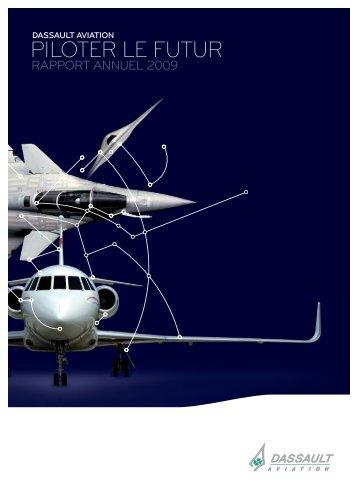 Rapport annuel 2009 - application/pdf - (6.3Mo) - Dassault Aviation