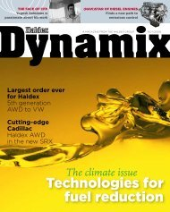 Technologies for fuel reduction - Haldex