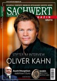 Sachwert Magazin Nr 26 online
