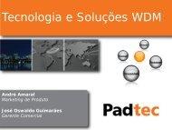 Tecnologia e Soluções WDM