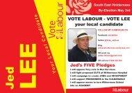 Labour Election Address - HU12 Online