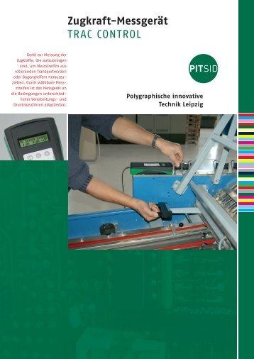 Zugkraft-Messgerät TRAC CONTROL - Sächsisches Institut für die ...