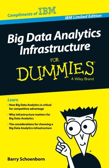 big data analytics infrastructure for dummies