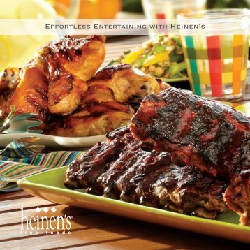 Effortless Entertaining with Heinen's - Dine Here US