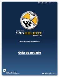 Faronics WINSelect Enterprise User Guide