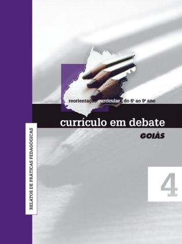 currículo em debate reorientação curricular do 6º ao 9º ano