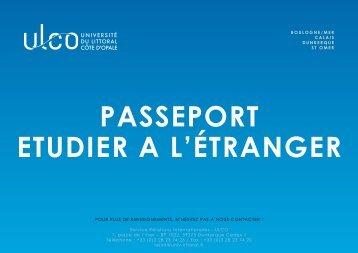Télécharger notre passeport pour l'étranger - Université du Littoral ...