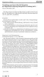 Verordnung - Integration Basel - Kanton Basel-Stadt