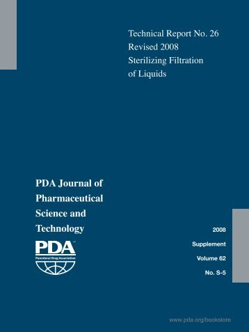 PDA Journal of Pharmaceutical Science and ... - store.pda.org