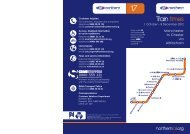 Northern Timetable 17.indd - Northern Rail