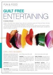 Guilt Free Entertaining - Whole Image Nutrition