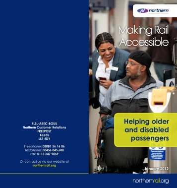 Making Rail Accessible - Northern Rail