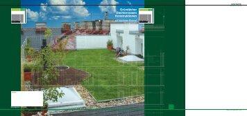 Gründächer Dachterrassen Konstruktionen - APP Dachgarten GmbH