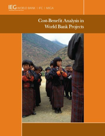 Cost-Benefit Analysis in World Bank Projects