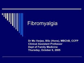 Fibromyalgia - Fp Ucalgary
