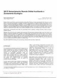 SIG E Sensoriamento Remoto Orbital Auxiliando o Zoneamento ...
