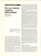For a Christian View iof Ecology, Ecologia, 1972 - Page 2