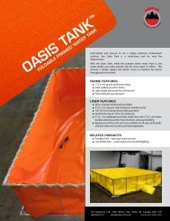 OASIS TANK - SEI Industries Ltd.