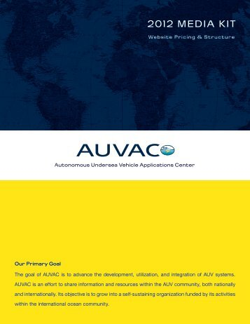 Download The Media Kit - AUVAC