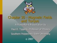 Torque and Magnetic Fields