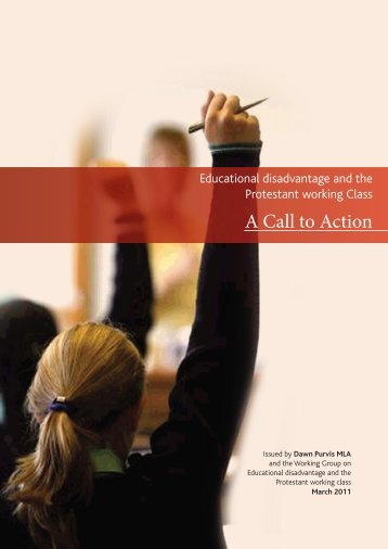 A call to action: educational disadvantage and the Protestant ... - Nicva
