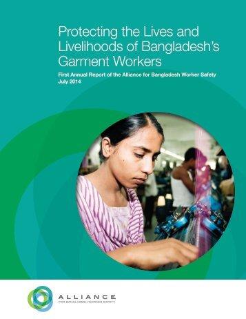 Alliance Annual Report, 2014