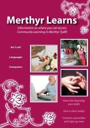 Merthyr Learns English - Merthyr Tydfil County Borough Council