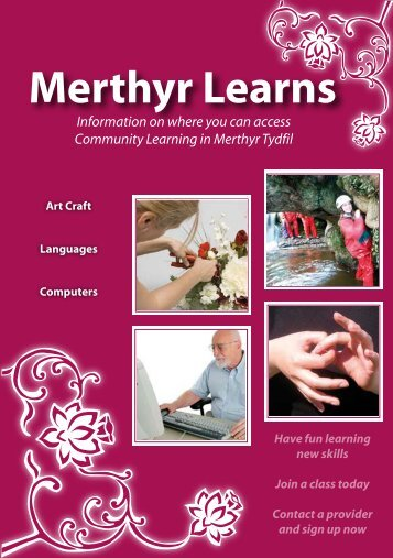 Merthyr Learns English - Merthyr Tydfil County Borough Council