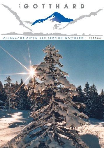 Titelseite Nr.1-06.indd - SAC-Gotthard
