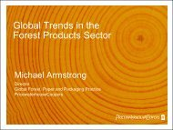 Forest & Paper Industry Trends