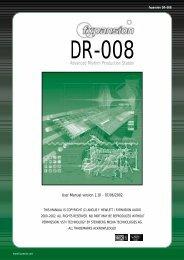 DR-008 Manual V1.1 - FXpansion