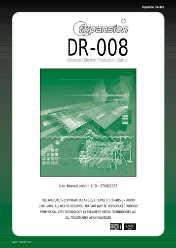 DR-008 Manual V1.1 - FXpansion