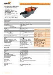 Technisches Datenblatt Drehantrieb LR24A-MP - Belimo