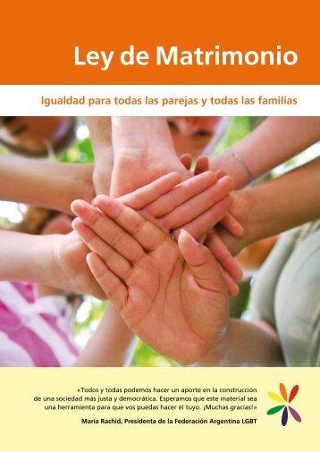 Folleto informativo sobre la Ley de Igualdad - Federación Argentina ...